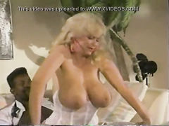 Vintage interracial sex video with a cheating wife