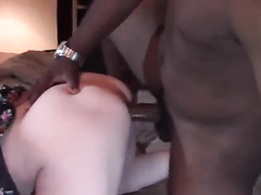 Skinny blonde wife is obsessed with cuckold breeding