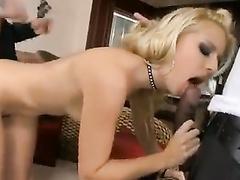 DP'd Slut Jessie Interracial