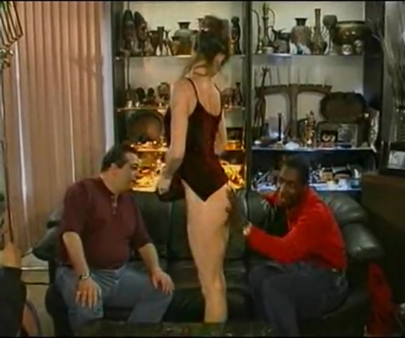 Cuck hubby hires two black bull to fuck his wife